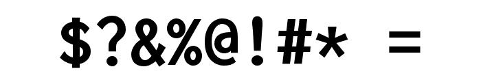 Inconsolata zi4[varl,varqu] Bold Font OTHER CHARS