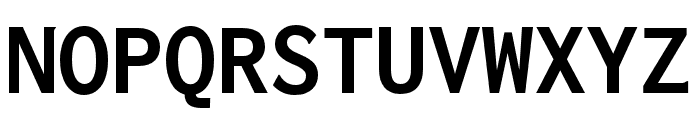 Inconsolata zi4[varl,varqu] Bold Font UPPERCASE