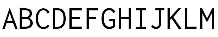 Inconsolata zi4[varl,varqu] Regular Font UPPERCASE