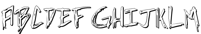 Incubus Shadow Font UPPERCASE