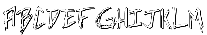 Incubus Shadow Font LOWERCASE