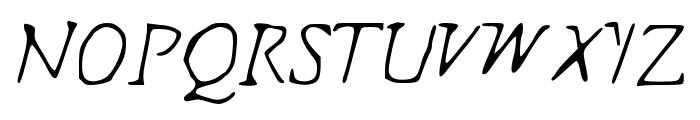 Indagate Font UPPERCASE
