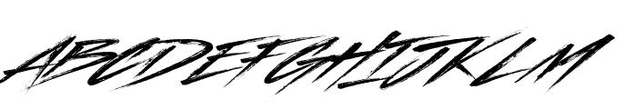 Indelible Font UPPERCASE