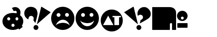 Independant - Alternates Font OTHER CHARS