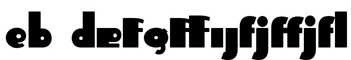 Independant - Alternates Font LOWERCASE