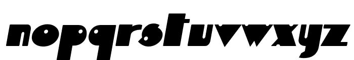 Independant Italic Font LOWERCASE