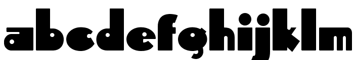 Independant Font LOWERCASE