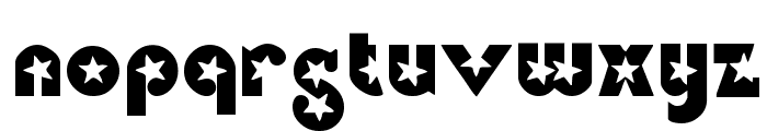 Independence Font LOWERCASE