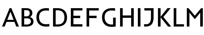 Inder-Regular Font UPPERCASE