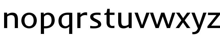 Inder-Regular Font LOWERCASE