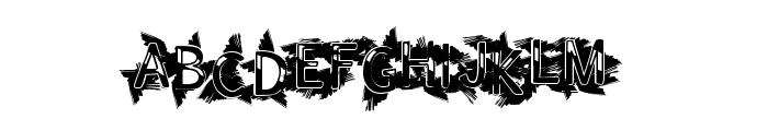 IndianSummer Font UPPERCASE