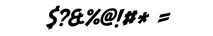 Indiana Jonas Italic Font OTHER CHARS