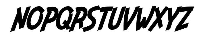 Indiana Jonas Italic Font UPPERCASE