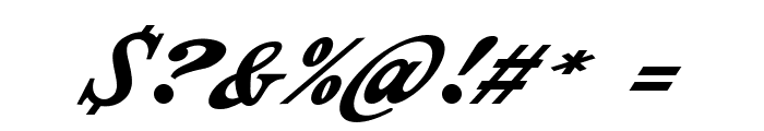 Indiana Script PERSONAL USE Font OTHER CHARS