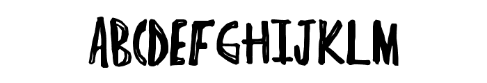 IndieHype Font UPPERCASE