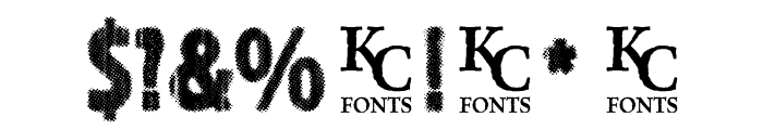 IndiePress Font OTHER CHARS