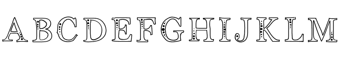 Indifference Font UPPERCASE