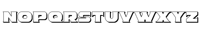 Indigo Demon 3D Font UPPERCASE