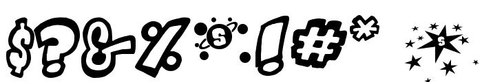 Indigo Joker Font OTHER CHARS