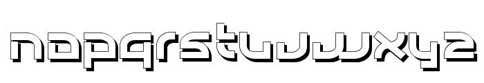 Individigital Shaded Font LOWERCASE