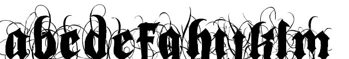 Indoctrine Font UPPERCASE
