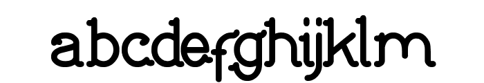 Indonesia Tanah Air Beta Font LOWERCASE