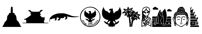 Indonesian Icons Font OTHER CHARS