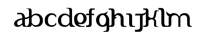 Indonesiana Version Alpha Font LOWERCASE