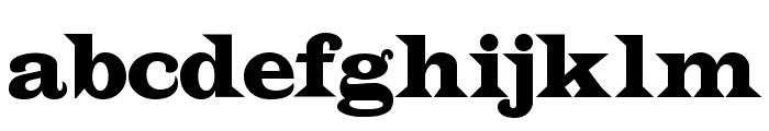 Indubitably NF Font LOWERCASE