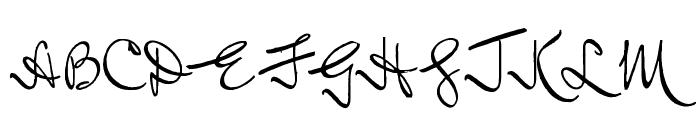 Inductive Resonance Font UPPERCASE