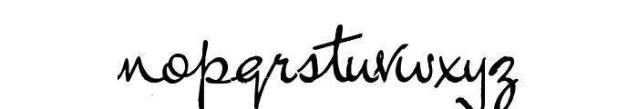 Inductive Resonance Font LOWERCASE