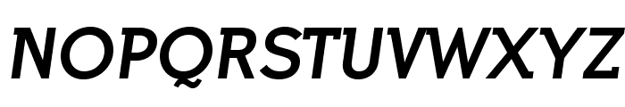 IndultaSemiSerif-Italic Font UPPERCASE