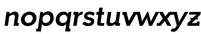 IndultaSemiSerif-Italic Font LOWERCASE