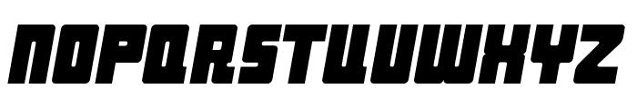 Industrial Decapitalist Italic Font UPPERCASE