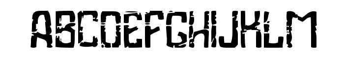 Industrial Poison Font UPPERCASE