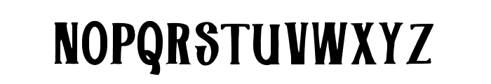 Industries - Hoe Font UPPERCASE