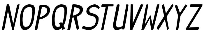 Indy Pimp Italic Font UPPERCASE