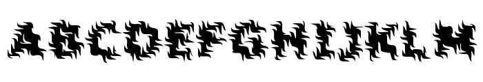 Inertia [BRK] Font UPPERCASE