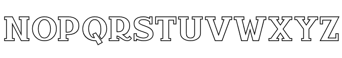 InfantylOut Font LOWERCASE