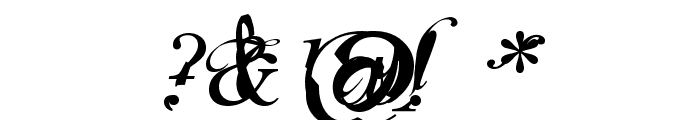 Infiltrace  Italic Font OTHER CHARS