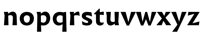 Infini Bold Font LOWERCASE