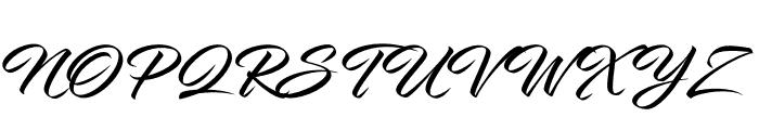 InfiniteStroke-Bolder Font UPPERCASE
