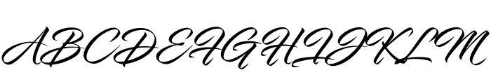 InfiniteStroke-Condensed Font UPPERCASE