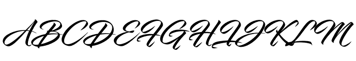 InfiniteStroke-CondensedBolder Font UPPERCASE