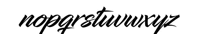 InfiniteStroke-CondensedBolder Font LOWERCASE