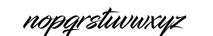 InfiniteStroke-Condensed Font LOWERCASE
