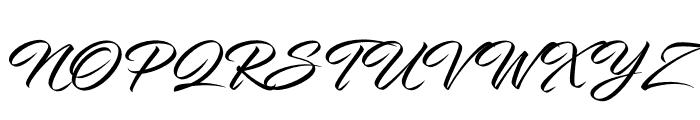 InfiniteStroke Font UPPERCASE