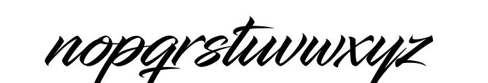 InfiniteStroke Font LOWERCASE