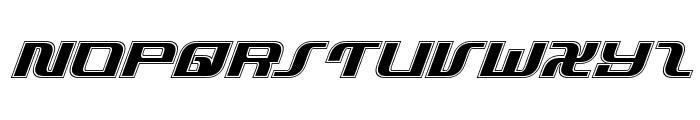 Infinity Formula Academy Italic Font UPPERCASE