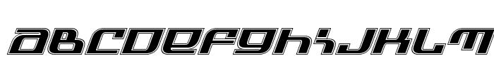 Infinity Formula Academy Italic Font LOWERCASE